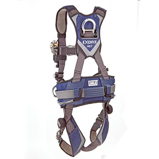 DBI Sala Exofit NEX Wind Energy Harness With Belt Back_520 dbi sala exofit nex wind energy harness with belt med, css worksafe