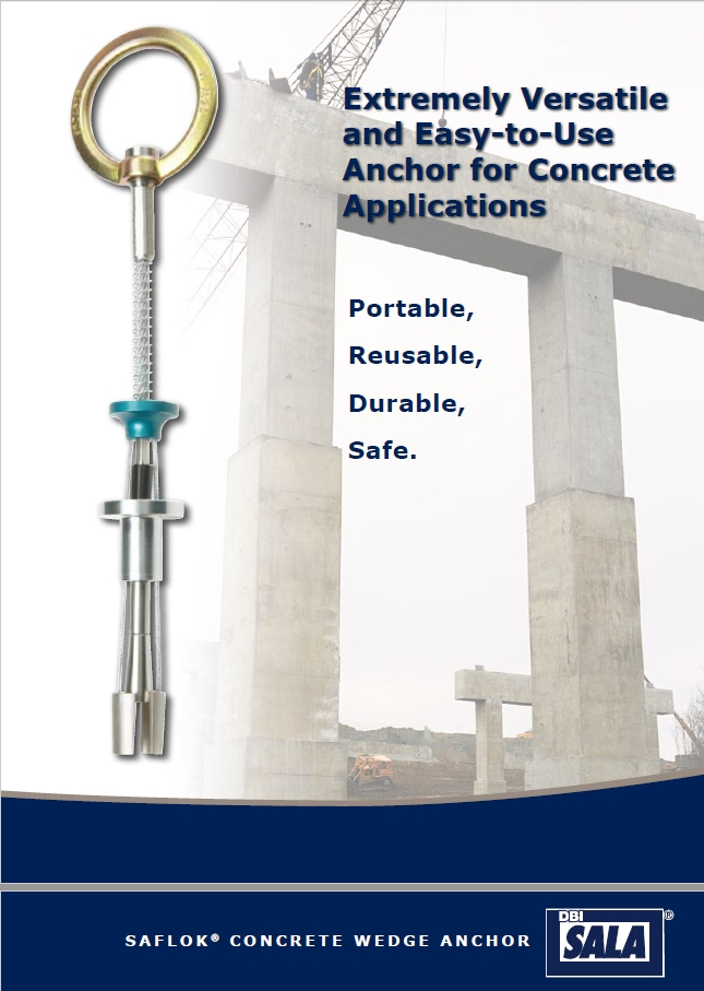 Dbi Sala Saflok Concrete Wedge Anchor Css Worksafe